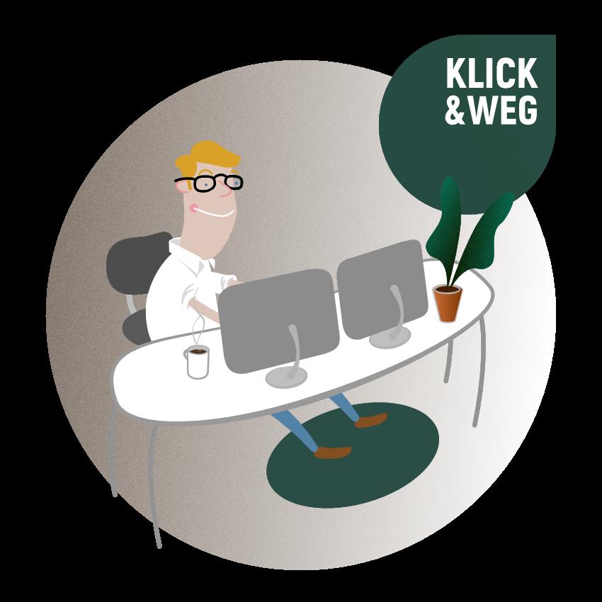 Digi-Bel Klick&Weg-Prinzip für Steuerberater und Mandanten